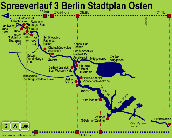 Stadtplan Berlin Köpenick